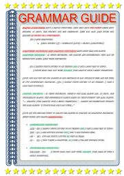 English Worksheet: GRAMMAR GUIDE - LINKERS