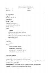 English Worksheets: energizer