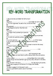 KEY-WORD TRANSFORMATION