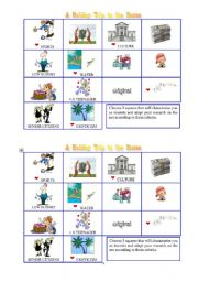 English Worksheet: New york vs. Los Angeles - tourist worksheet