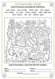 english teaching worksheets colour by numbers. Black Bedroom Furniture Sets. Home Design Ideas