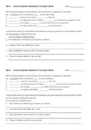 Best Images Of Conjunction Worksheets Grade Conjunctions And Cheap likewise Englishlinx     Conjunctions Worksheets as well KS2   Conjunctions and connectives   Teachit Primary also Connectives explained for primary  parents   Connectives in further  also Choose the connectives together with KS2   Conjunctions and connectives   Teachit Primary likewise Putting Sentences ther Connectives Worksheet Preview Sentence in addition 3rd grade  4th grade Writing Worksheets  Connectives   Greats likewise KS3 Grammar and vocabulary   Connectives   Teachit English as well Cause and Effect Connectives Worksheet   connectives  effect likewise  likewise Time connectives explained for primary  parents   Time likewise  also Connectives worksheets furthermore Connectives   PrimaryLeap co uk. on connectives worksheet for grade 5