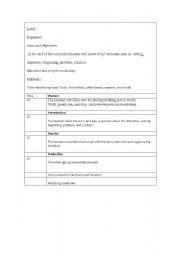 English Worksheets: storytelling elements