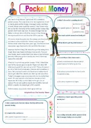 English Worksheet: pocket money