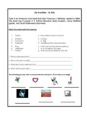 English Worksheets: Hey Soul Sister - song