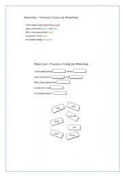 English Worksheet: Limerick