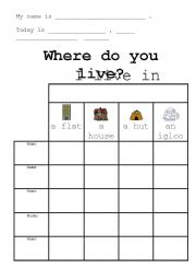 The City Where I Live - Free Printable K-3 Writing Prompt ...