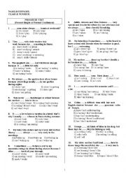 present simple vs present continuous multiple choice test esl worksheet by serzt. Black Bedroom Furniture Sets. Home Design Ideas