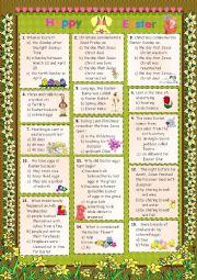 Easter  2012 - Quiz