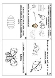 English Worksheet: the very hungry caterpillar part 2   (2/2)