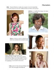 English Worksheet: The Help movie guide