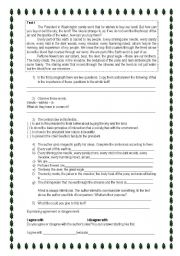 English Worksheets: Chief Seattle speech