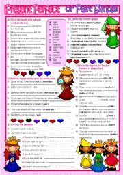English Worksheets: Present Perfect or Past Simple ( B&W and KEY included )