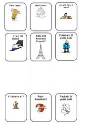 English Worksheet: Verb To Be - Making Questions. Negative and Afirmative 1/5