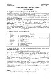 English Worksheets: consolidation sheets