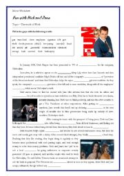 English Worksheets: movie activity - topic: work