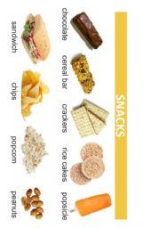 English Worksheet: FOOD POSTER 3/3