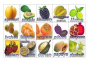 English Worksheet: Fruits Flashcards #2 (small)