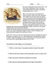 English Worksheets: Chapter 3