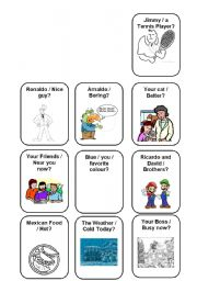 English Worksheet: Verb To Be - Making Questions. Negative and Afirmative 4/5