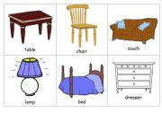 Flashcards - Furniture