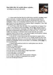 English Worksheets: full term test1