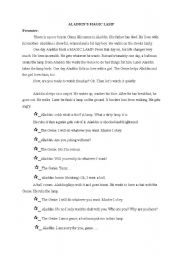 English Worksheets: story telling