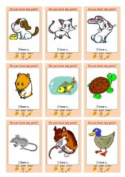 English Worksheets: PETS Interactive Communication Game (Rock Paper Scissors)