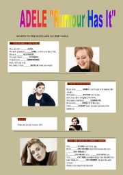 English Worksheets: Adele