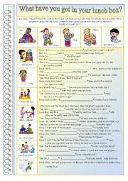 English Worksheet: Have- Has got