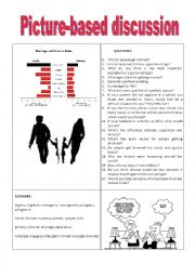 English Worksheet: Picture-based discussion