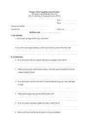 English Worksheets: PRACTICUM