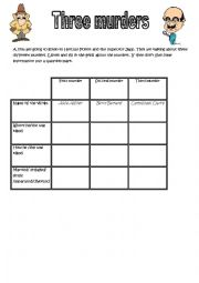English Worksheets: the ABC murders