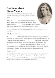 english teaching worksheets queen victoria. Black Bedroom Furniture Sets. Home Design Ideas
