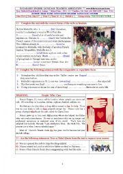 English Worksheet: volunteering