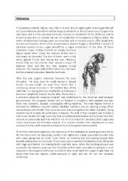 English Worksheets: Wolverine