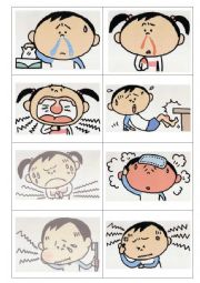 Illness/ailmets - I have ......(a headache)