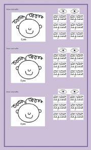 English Worksheets: eyes