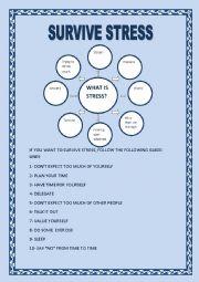 English teaching worksheets: Stress