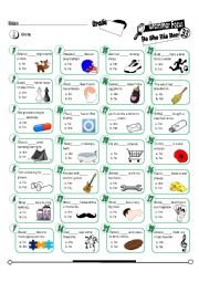 English Worksheet: Grammar Focus Series 33_He She His Her_MC (Fully Editable + Key)