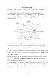 English Worksheets: teachers� roles