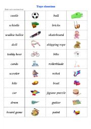 Vocabulary worksheets > Meaning > Working with the dictionary > Toys ...
