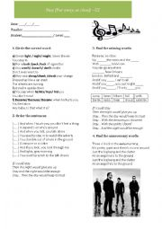 English Worksheets: Song lesson: U2 - Stay (faraway, so close)