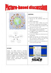 English Worksheet: Picture-based discussion cultural differences