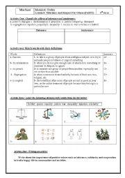 Lesson5 Tolerance (part2) 9th form