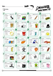 English Worksheets: Grammar Focus Series 34_Was Were (Fully Editable + Key)