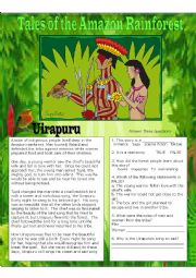 Tales of the Amazon rainforest - the Uirapuru