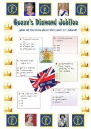 QUEEN´S DIAMOND JUBILEE - A QUIZ