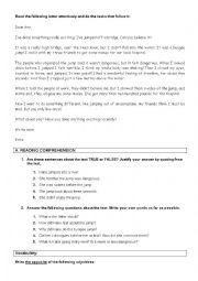 English Worksheet: english test - sports topic