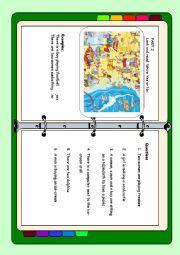 English Worksheet: movers part 2 reading elementary